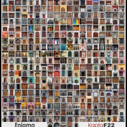 Mosaico de puertas de la serie Enigma